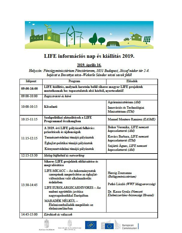 LIFE INFÓNAP program